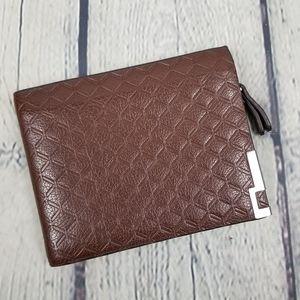 BORENYAS | embossed fold wallet